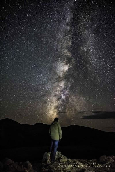 Milky Way over Independance Pass, Colorado