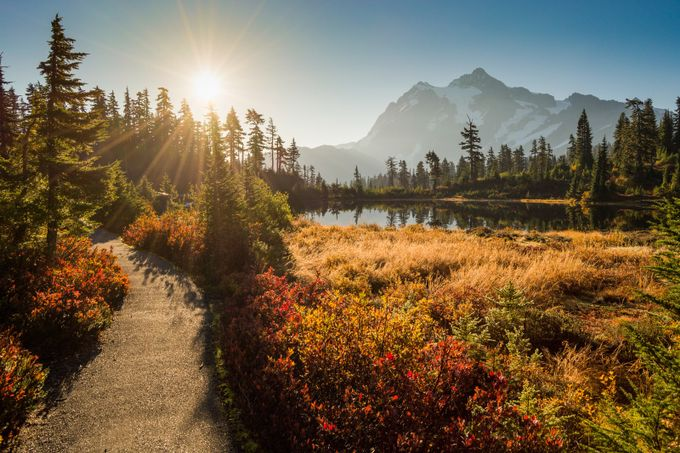 Picturesque Mt Shuksan by Ginger_Snaps - Fall 2017 Photo Contest
