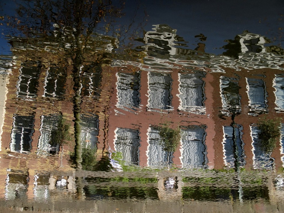 Reflection in the Water,The Hague