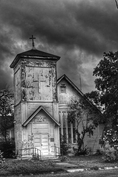 Eerie House of God