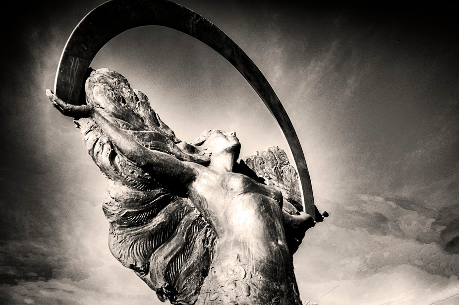 Suisun Valley California, Mother Nature in Bronze