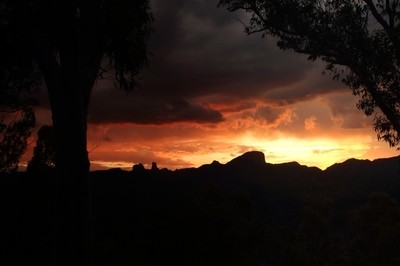 White Gum Lookout Sunset