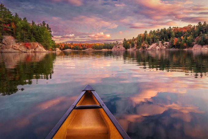 Sunset Paddle by tracymunson - Feeling Hope Photo Contest