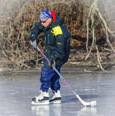 Hockey Ice skating
