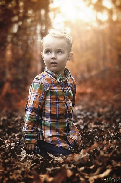 Child Autumn Wonder