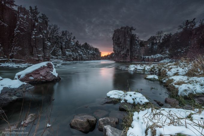 Palisades first snow by aaronjgroen - Alluring Landscapes Photo Contest