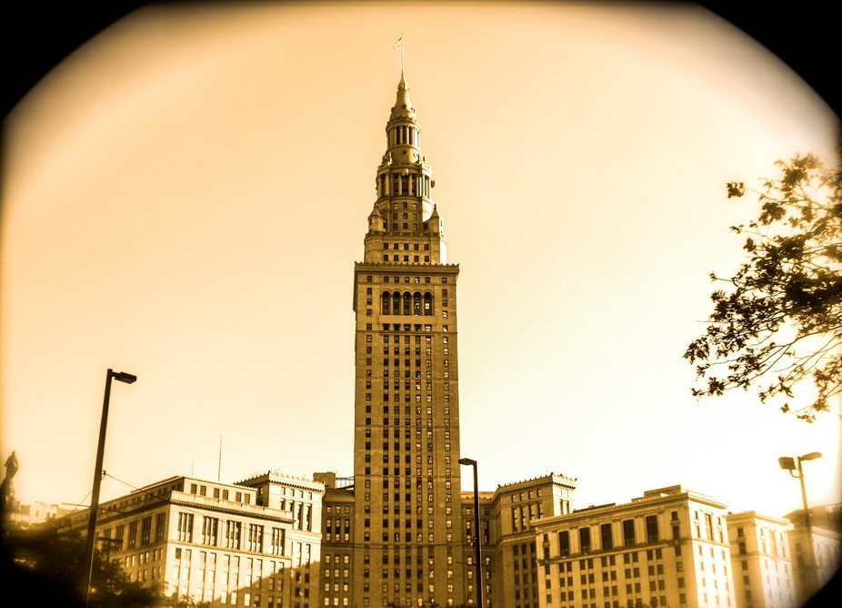This is a major landmark in Downtown Cleveland Ohio