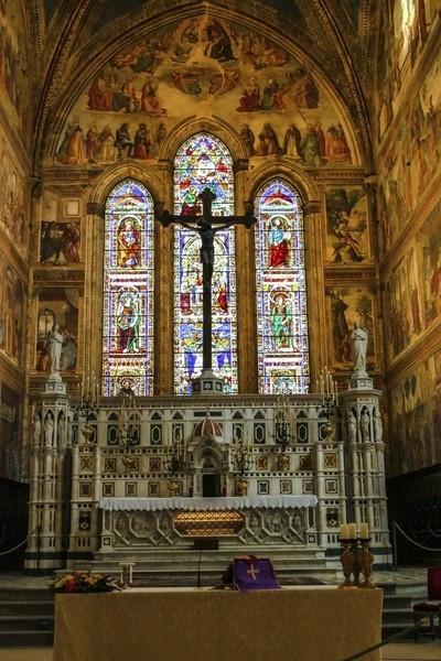 Interno Santa Maria Novella