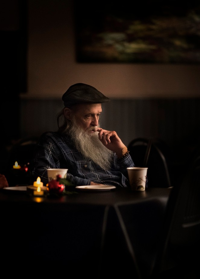 Musician writing in his thoughts by johnwood - Fine Art Portraiture Photo Contest