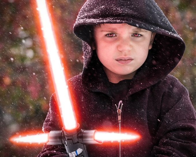 My little 5 year old Sith Lord! My son, Alek!! by forAlekphotography - Fantasy In Color Photo Contest