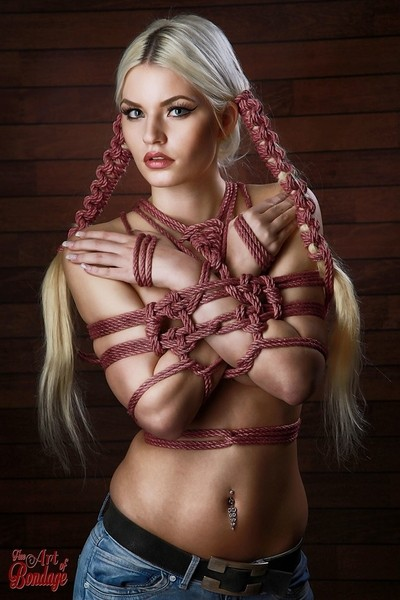Hairbondage - 2 rope Braids - Fine Art of Bondage