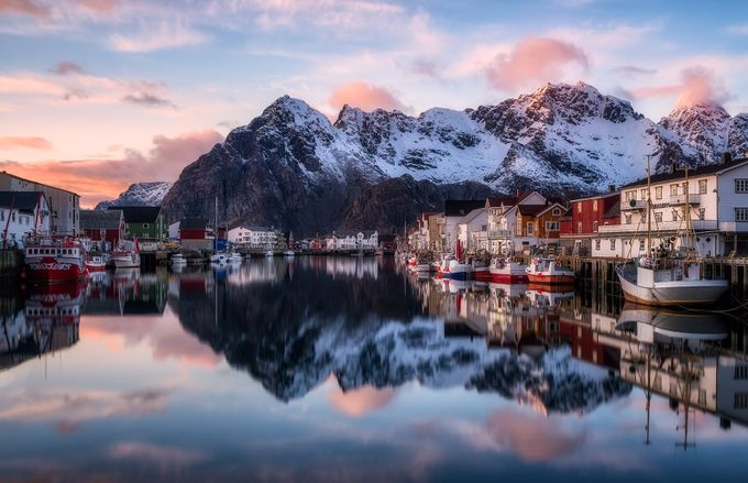 Arctic Calmness by Daniel-Photography - Towns In The Winter Photo Contest