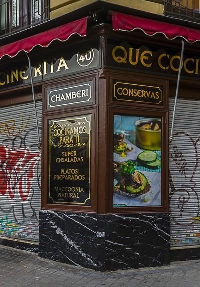 Bars (Que Cocine Rita). Madrid. Spain