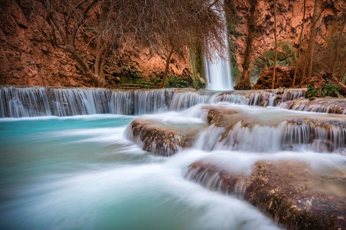 Havasu Falls by michaelwilson - Layered Compositions Photo Contest