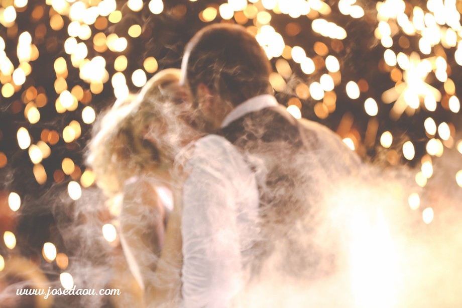 shot during the first dance