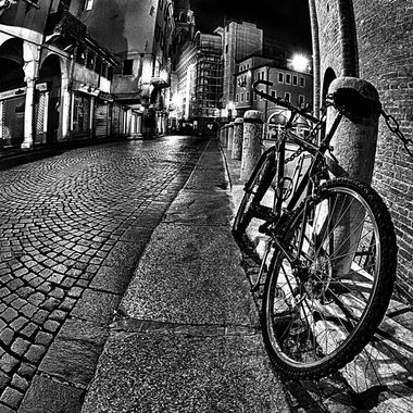 City in Black & White