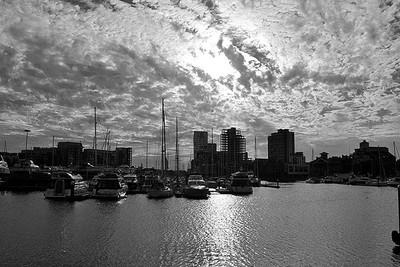 Ipswich Waterfront Sunset 2015