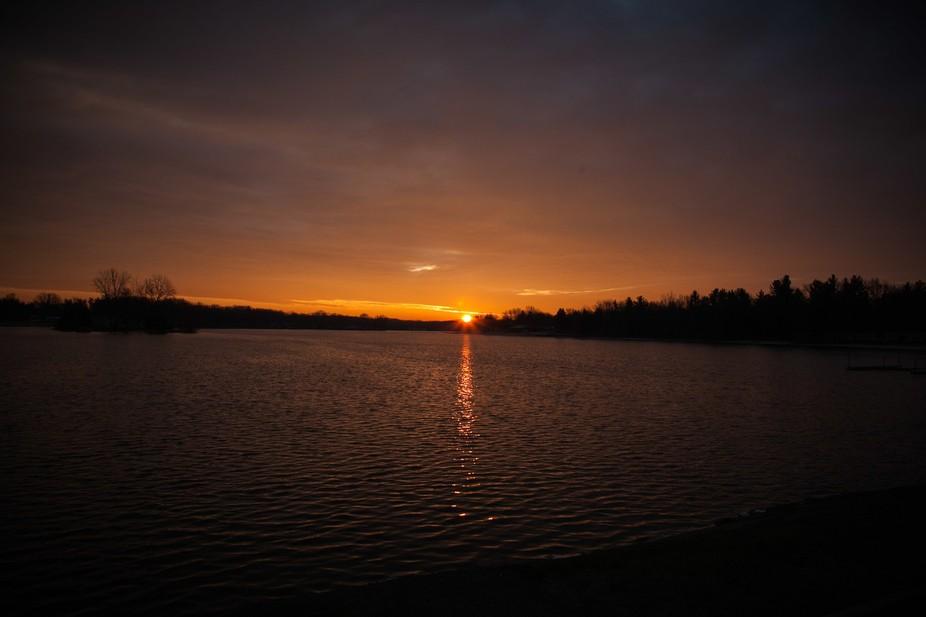 Lake of the Rising Sun