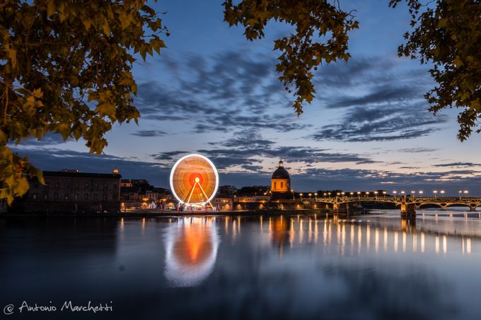 Toulouse panoramic  by AntonioMarchetti - Color In The Night Photo Contest