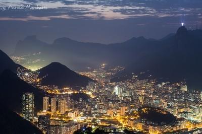 Rio de Janeiro nightscape