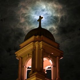 St. Francis at night