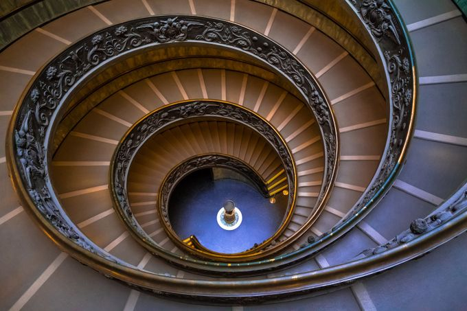 Vatican Gift Shop by StephenBridger - Stairways Photo Contest