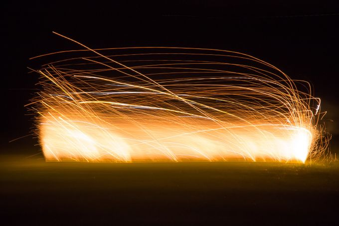 Firework Tornado by paleblue - Playing With Light Photo Contest