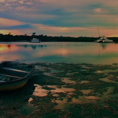Morning Twilight at Tin Can Bay, Australia