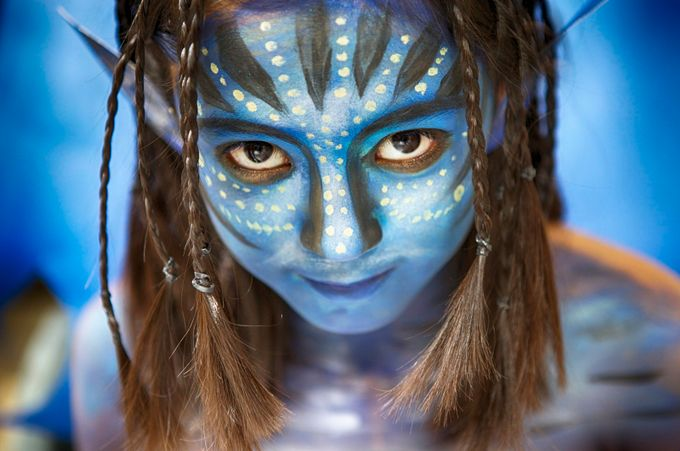 avatar makeup by bel1966 - Paint And Makeup Photo Contest