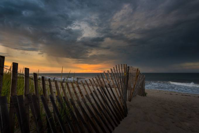 Picket Fence Sunset by danpark - Fences Photo Contest
