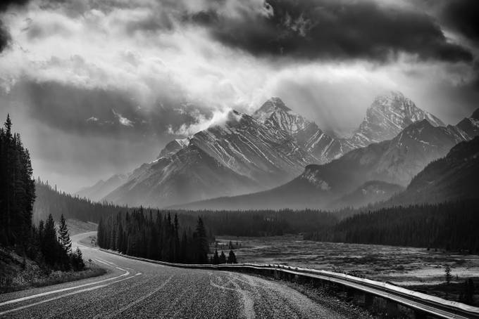 Storm Breaks by daveterp - A Black And White World Photo Contest