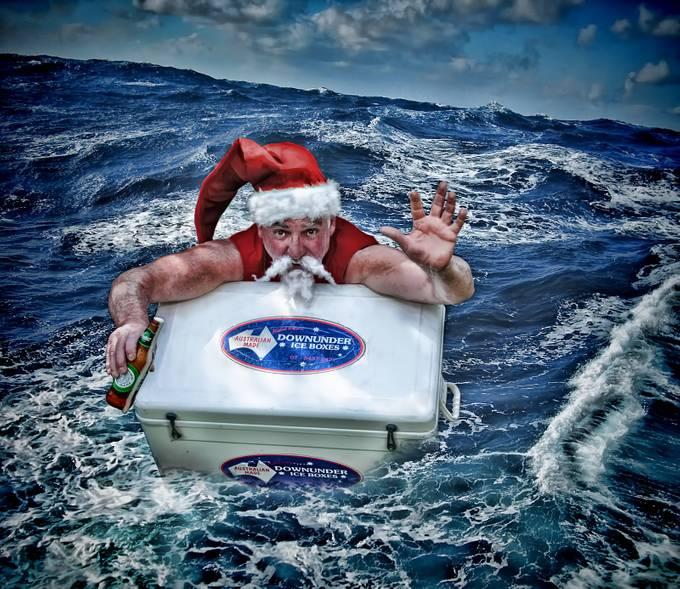 Santa is safe.