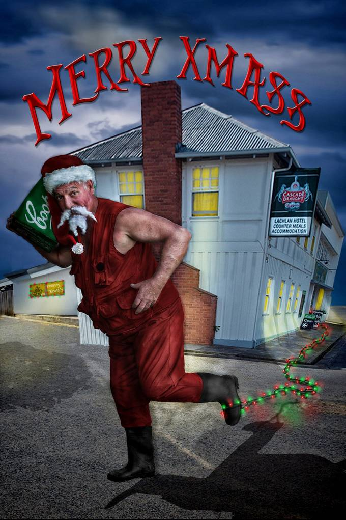 Merry Xmas to everyone on Viewbug. Santa just nipped down to our local in Ouse Tasmania.