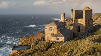 Engine Houses, Levant, Cornwall, England
