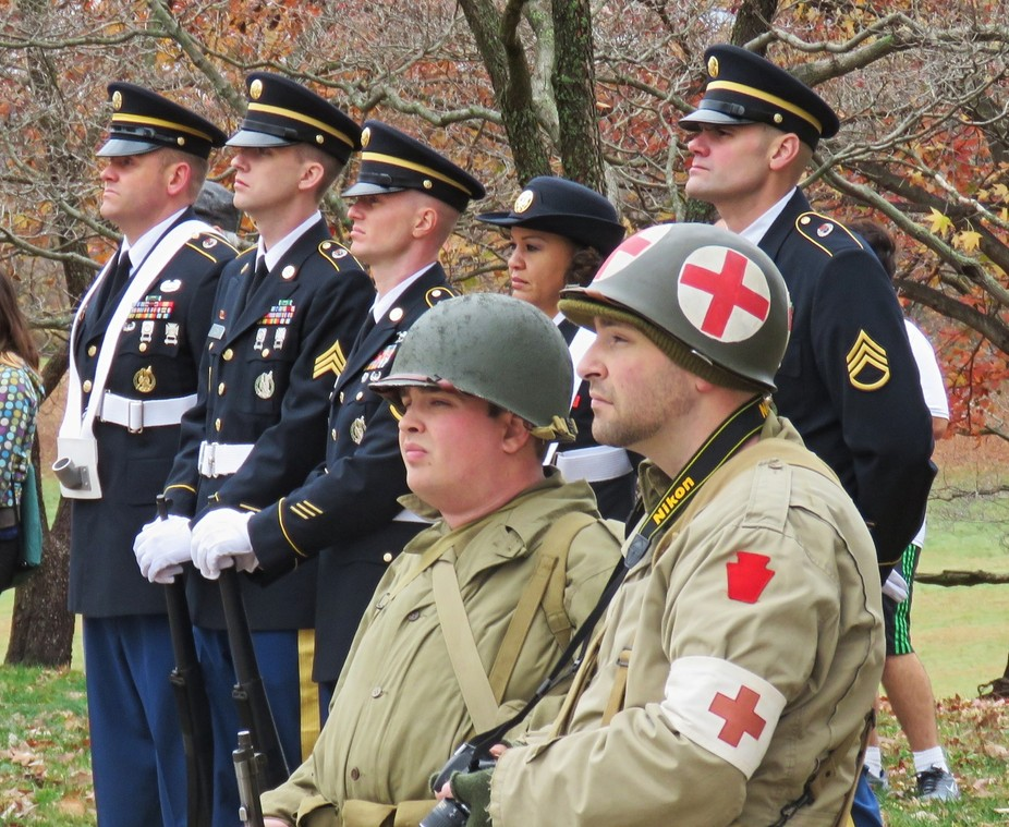 Veterans Day Commemoration 2015 at Valley Forge National Historical Park