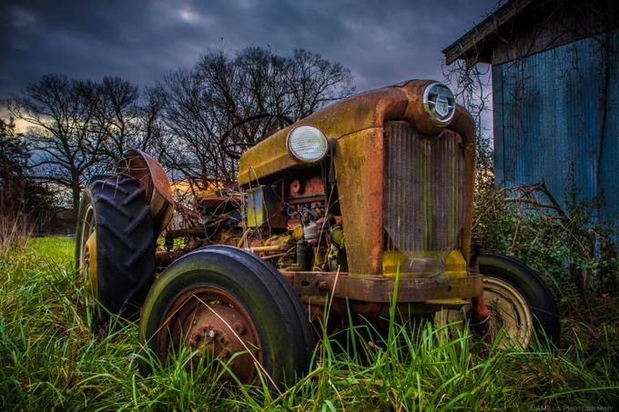 Old Farm Tractor by JAMillsPhoto - Monthly Pro Vol 17 Photo Contest