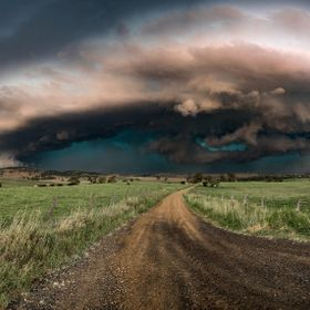 A massive hail cored supercell captured at Coleyville Queensland Australia. It produced 100km/h plus winds, larger hail, frequent and dangerous l...