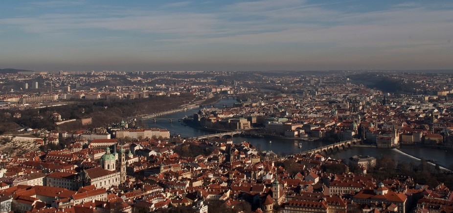 I managed to get to the Observatory and capture this beautiful Landscape where the City of Prague...