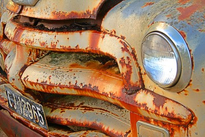 Old Chevy - Rusted