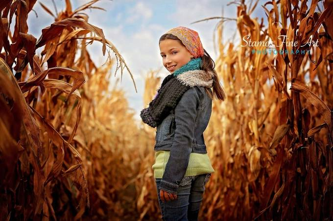 Corn Maze by StamosFineArt - Smize Photo Contest