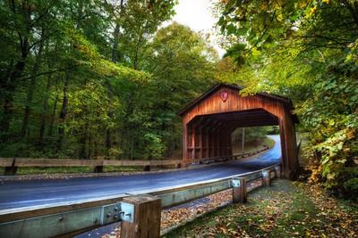 Wooden Gate of Pierce Scenic Drive
