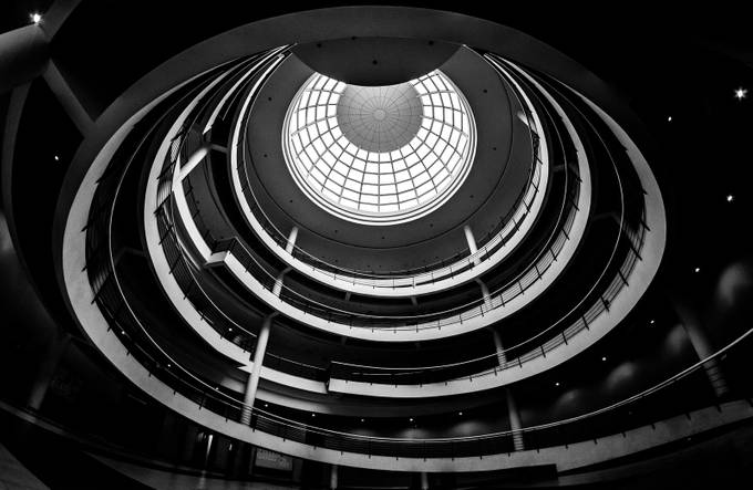 The Spiral by gerdiehutomo - Black And White Architecture Photo Contest