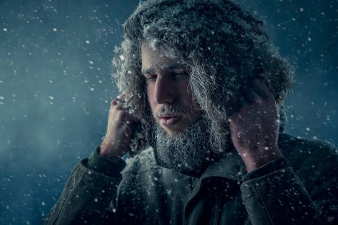 So cold by DYACHKOV - Dramatic Portraits Photo Contest