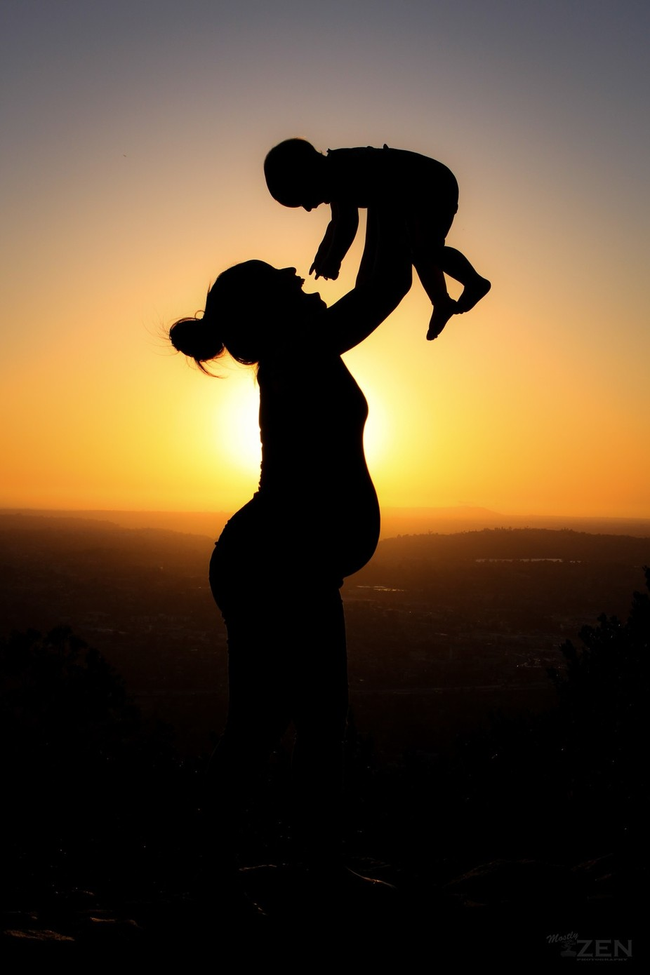 A Mothers Love by MostlyZenPhotography - Happy Moments Photo Contest