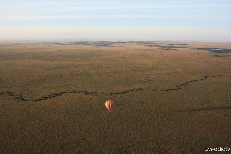 Minutes after minutes flying over the Masai Mara makes you understand the purity of our Earth.