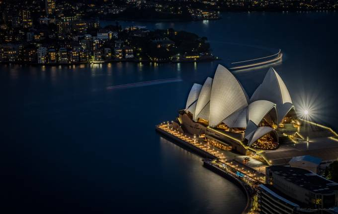 A Night at the Opera by marcusburtenshaw - Iconic Places and Things Photo Contest