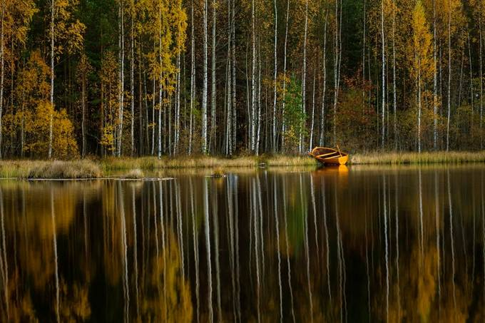 Autumn reflection by Harri - Fall 2017 Photo Contest