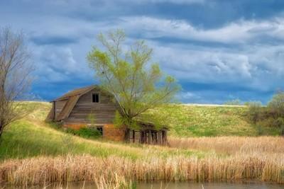 Old Barn - Spring HDR
