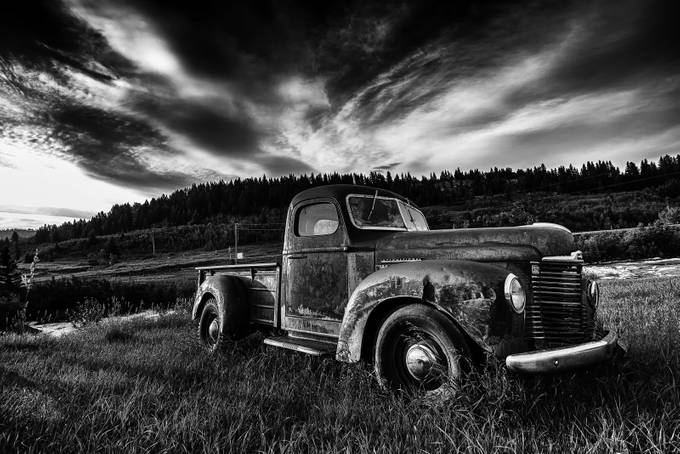 B&W Truck by gsim - Black And White Wow Factor Photo Contest