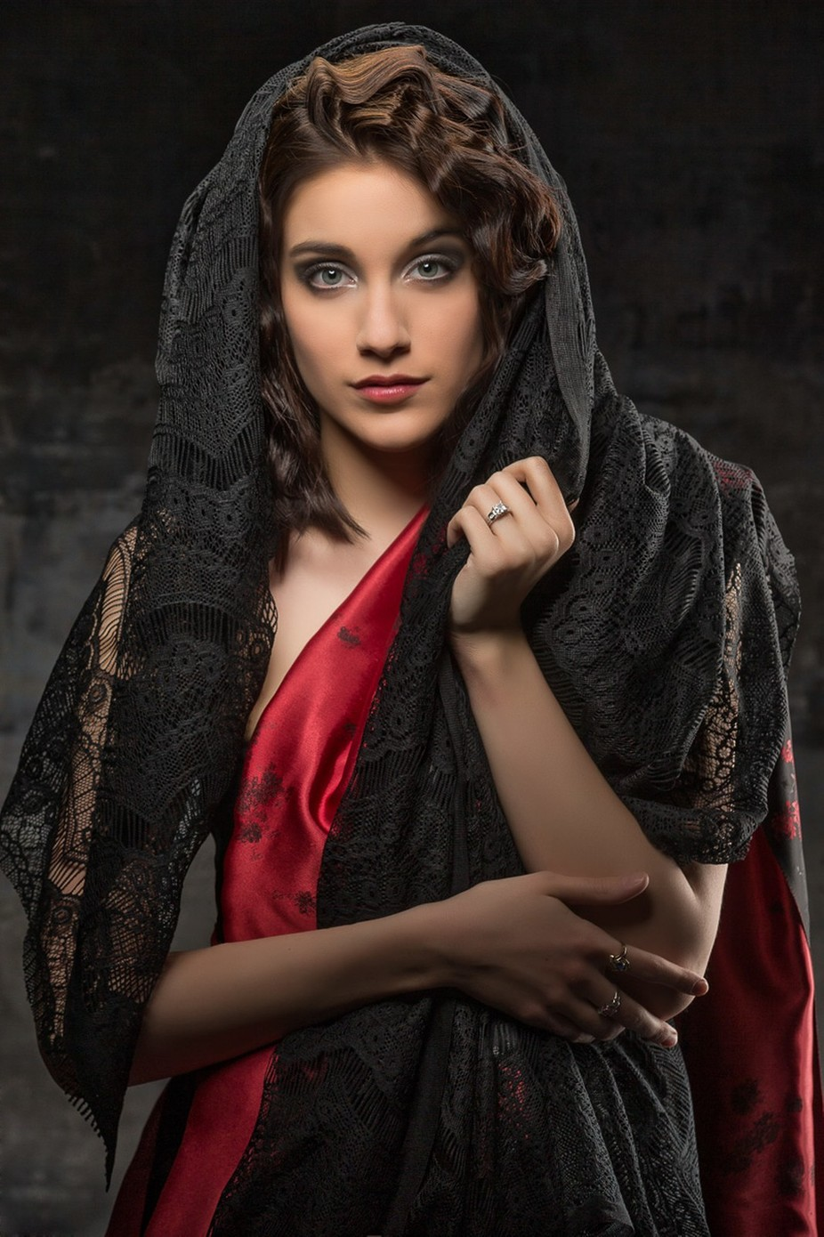 just playing with fabric by danrowe - Celebrating Fashion Photo Contest